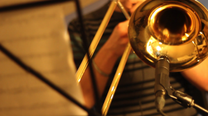 Florian au trombone